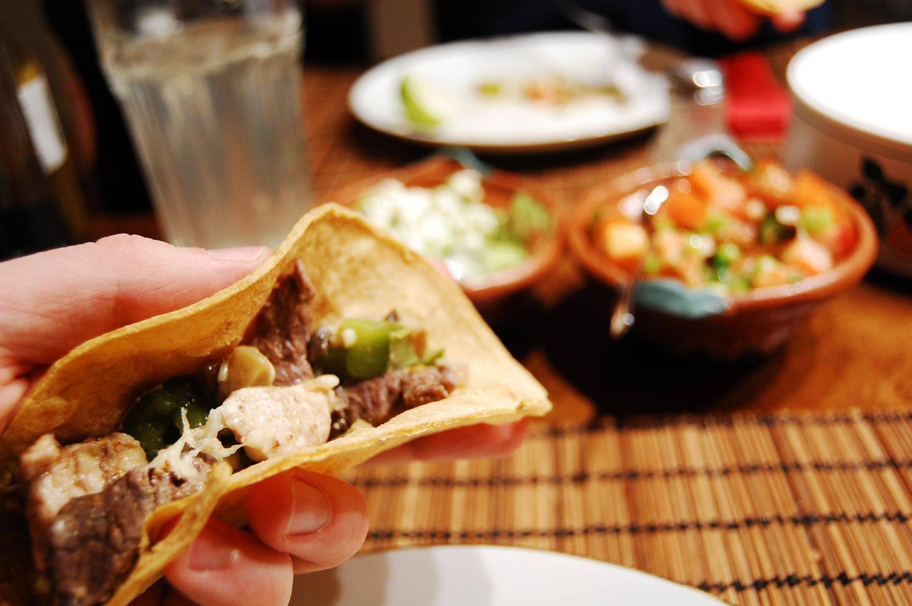 Rezept für original mexikanische Tacos mit Guacamole