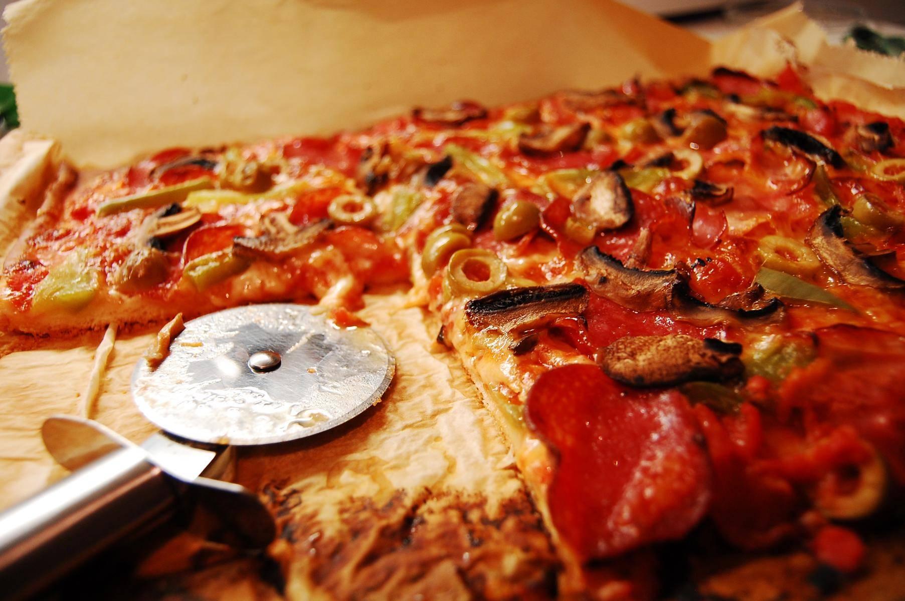 Zuckerfreie Pizza ist genauso lecker wie normale Pizza