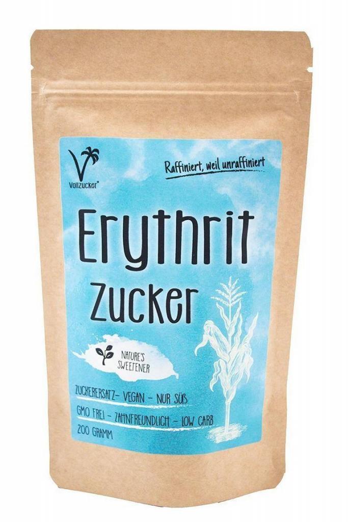 Erythrit - die gesunde Zuckeralternative
